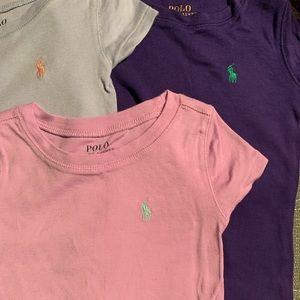 Girl's Polo T-shirt's